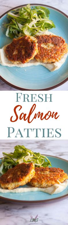 Using fresh salmon for salmon patties adds an incr…