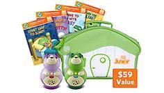 LeapReader™ Junior Toddler Milestones Bundle