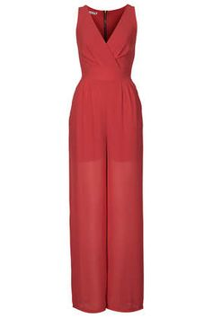 Love this **V Neck Jumpsuit by Wal G via Topshop. Perfect #Travel #Style