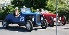 Northwest Vintage Speedsters -- Jim Hill Speedster -- 93