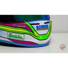 """""""Blue base trimz and pink grillz! Our coloured trims and grills are available worldwide to painters, dealers and helmet upgrade enthusiasts. Apply for wholesale at www.antmanhelmetdesign.com #ahd #customtrix #antmanhelmetdesign #instahelmet #helmetdesign #customhelmetpaint #custompaint #karting #arai #bell #stilo #hjc"""" Photo taken by @antman_custom_trix on Instagram, pinned via the InstaPin iOS App! http://www.instapinapp.com (12/23/2014)"""
