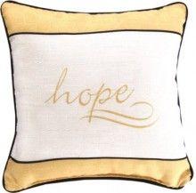 Pillow-Gold Love Inspirations-Hope x Gold Pillows, Throw Pillows, Christian, Leonard Afremov, Stuff To Buy, Inspiration, Spiritual, Room Decor, Living Room