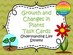 Looking for a great way to review or assess the grade 3 Ontario science unit Understanding Life Systems: Growth and Changes in Plants? Check out these task cards! These 20 task cards cover a range of curriculum expectations and content information (definitions of key terms [adaptation, germination], plant parts, plant life cycles, human uses for plants, how human activities affect plants).