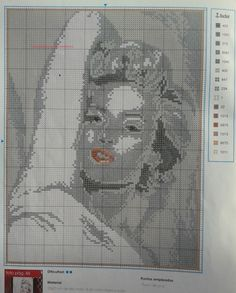FREE CROSS POINT GRAPHICS: MICHAEL JACKSON MARILYN AUDREY (9)