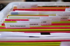 Paperwork Organzing Tips- A friend of mine's sister is a professional organizer and says the #1 problem is paperwork.  Here's a good tip on keeping it organized.
