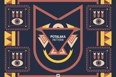 Vectors - Potalaka Pattern by Jackkrit Anantakul available at YouWorkForThem.