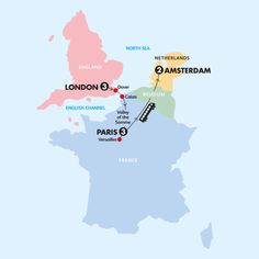 London-Paris + Amsterdam