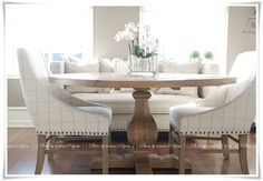 Tomines hjem - spisebordet!!!