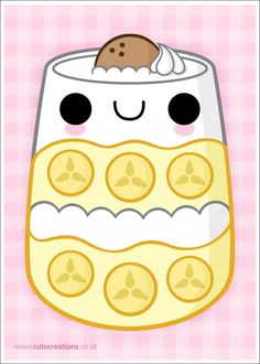 COMMISSION: Banana Pudding by Cute-Creations on DeviantArt