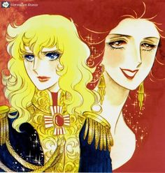 Manga cover artwork from Rose of Versailles. by Ms. Riyoko Ikeda.