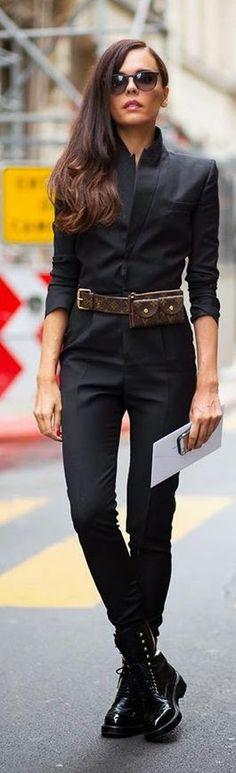 Total Black Styleheroine Style