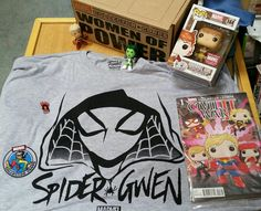 #Marvel Collector Corps - Women Of Power Box Goodness! #SpiderGwen #SquirrelGirl #SheHulk #CaptainMarvel #SpiderWoman #KamalaKhan