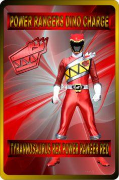 Tyrannosaurus Rex Power Ranger Red by rangeranime on @DeviantArt