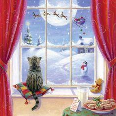 ☃ A White Christmas ~ Artist Sarah Summers