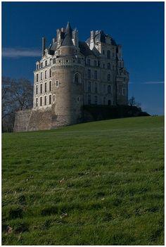 Brissac Castle - Brissac-Quince, Pays-de-la-Loire, France