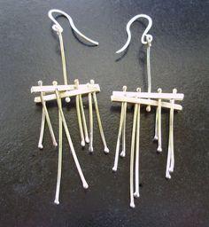 Emerald Earrings / Emerald / Emerald Cut Halo Earrings in Gold / Emerald Earrings Studs / Natural Emerald Earrings / Green Emerald - Fine Jewelry Ideas Emerald Earrings, Sterling Silver Earrings, Dangle Earrings, 925 Silver, Silver Rings, Statement Jewelry, Gold Jewelry, Wire Jewelry, Jewlery
