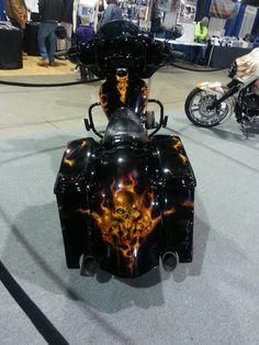 Custom Harley Bagger....Sick