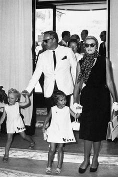 En croisière en Italie, août 1960