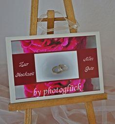 Hochzeitskarte Fotokarte von PHOTOGLÜCK auf DaWanda.com