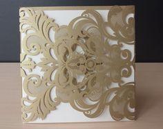 Personalización oro invitación de la boda tarjeta de invitación personalizada CW3109 en Artículos de Fiesta de Casa y Jardín en AliExpress.com | Alibaba Group