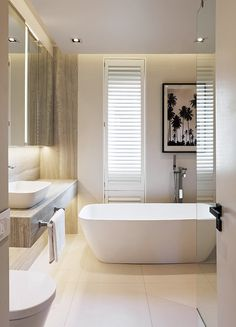 Designed by John Jacob Zwiegelaar, this lock-up-and-go apartment in Tamboerskloof, Cape Town, is a prime example of the designer's pared-back aesthetic – as seen in House and Leisure Dream Bathrooms, Beautiful Bathrooms, Bathroom Interior, Modern Bathroom, Family Bathroom, Apartment Interior, Budget Bathroom Remodel, Bathroom Toilets, Bathroom Inspiration