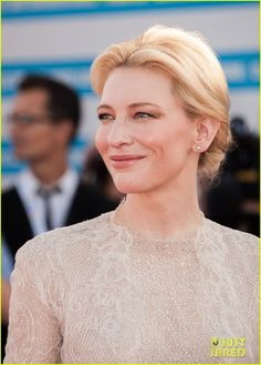 Full Sized Photo of cate blanchett michael douglas deauville opening ceremony 02 Manifesto Cate Blanchett, American Festivals, Monument Men, Renaissance Dresses, Thomas Brodie Sangster, Gwyneth Paltrow, Keira Knightley, Best Actress, Opening Ceremony