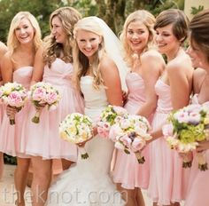 Pale Pink and White Themed Wedding #perf
