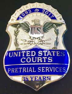 Pretrial Service, United States Probation Court 35 Years (Smith & Warren)