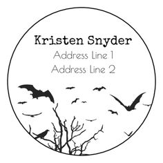 Make Your Envelopes Spooky This Halloween With Help From These Free Printable Address Labels Label