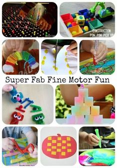 Great list of fun fine motor activities from the Fine Motor Fridays weekly collaborative series! This collection from LalyMom showcases our favorite fine motor activities. You'll find holidays, pinch strength, pencil grip, pre-writing, and more! Find all of your fine motor learning ideas right here. Quiet Toddler Activities, Fine Motor Activities For Kids, Motor Skills Activities, Toddler Preschool, Fun Learning, Preschool Activities, Preschool Kindergarten, Preschool Teachers, Therapy Activities