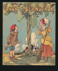 Jack and the Beanstalk ~ Eulalie Illustrations, Platt Munk 1934 | eBay