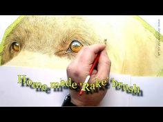 Watercolour Painting Tutorial - How to paint fine detail