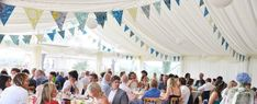 Quality Bunting for sale and hire across the uk. Wedding and Event Hire - Gift Shop - Venue Dressing - Home Decor. Surf Wedding, Wedding Bunting, Wedding Hire, Blue Bunting, Amy Butler Fabric, Floral Fabric, Colour Schemes, Reception Decorations, Blue Green