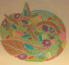 Millie Marotta dierenrijk kleurboek Vos