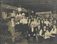 Turn-of-the-century Frank Sterman's saloon. Camp Washington, Cincinnati.