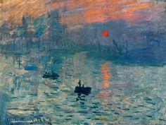 """Uno studio condotto dall'Universsità Statale del Texas calcola l'ora esatta e il luogo in cui Claude Monet dipinse """"Impressione, levar del sole""""."""