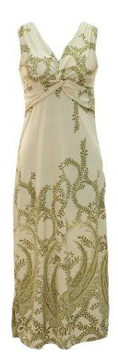 Peach Couture® Paisley Knotted Maxi Dress (Small, Cream/Olive Green) Peach Couture,http://www.amazon.com/dp/B00HWZE192/ref=cm_sw_r_pi_dp_bGQvtb0103CNN4E7