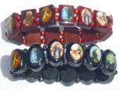 All saints bracelets a wide selection of the fashionable faith Bracelets, from wooden bracelets to hematite and sterling silver. All saints bracelets depict a different saint or religious figure. Catholic Store, Catholic Gifts, The Good Catholic, Our Lady Of Lourdes, Rosary Beads, All Saints, Faith, Prayer Quotes, Bracelets