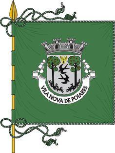 Bandeira de Vila Nova de Poiares