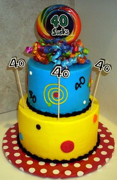 funny 40th birthday cakes - Google Search