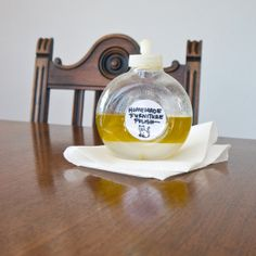Homemade Furniture Polish: Your wooden furniture will glow after using this homemade furniture polish. And you probably already have all the ingredients you need for tossing this polish together.