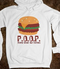 (2) P.O.O.P. Hoodie - Awesome Hoodies - Skreened T-shirts, Organic Shirts, Hoodies, Kids Tees, Baby One-Pieces and Tote Bags on Wanelo