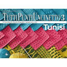 Manuale dei punti dell'uncinetto tunisino Mani di Fata