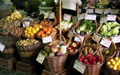 Ponta Delgada Farmer's Market by Egle Bazaraite