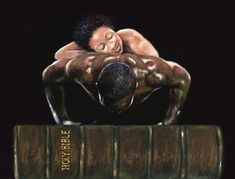 I've decided to find myself a man that the Bible is his livelyhood and his foundation. A man that walks by faith and not by sight. Lord I receive this request in Jesus name. Black Couple Art, Black Love Art, Black Girl Art, Black Love Quotes, Black Art Painting, Black Artwork, African American Artist, African Art, African Beauty