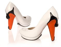 swan high heel shoes one more gadget photo