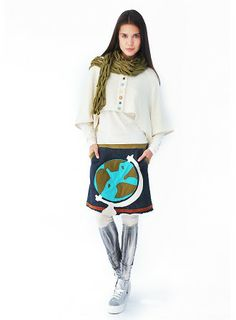 "Skirt ""Globe"" | Skirts : HEEL Athens Lab"
