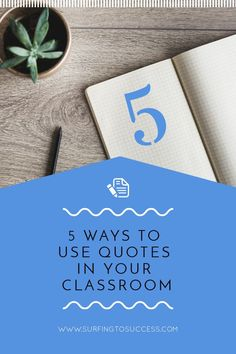 Have you spent hours looking at quotes on Pinterest? How can you use quotes effectively in your classroom? Check out these 5 ways quotes can be great for your students. From using quotes as a do now / bell ringer to digital ideas.  These can work for elementary and middle school students. 3rd grade, 4th grade, 5th grade, and 6th grade is a great time to think about growth mindset, famous people, and history while reading and responding to quotes.  Let's teach proper quotation mark skills, too.