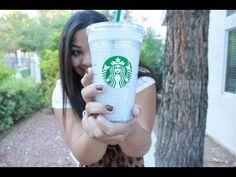DIY: Glitter Starbucks Cup!