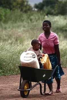 Public transportation . Goba, Mozambique